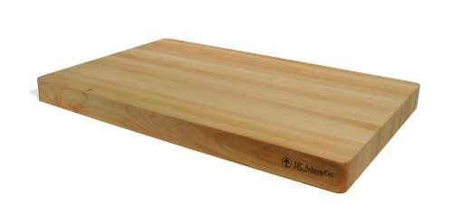 J.K. Adams 25 by 16-Inch Wood Ox Butcher Block