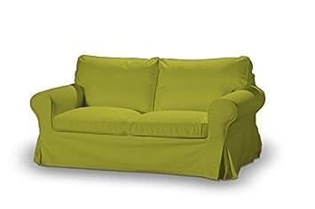 FRANC-TEXTIL 611-705-17 Sofabezug fur Ektorp 2-Sitzer nicht ausklappbar, Etna, limone
