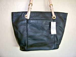 Michael Kors Large Tote Black Leather