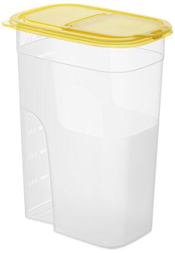 Sundis 1210001 Sunshine Boîte Plastique Transparent Orange 20,5 x 13,5 x 16 cm