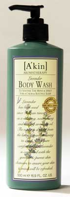 Purist A'kin Soothing Lavender Body Wash 16.9 Fl.Oz. From Australia
