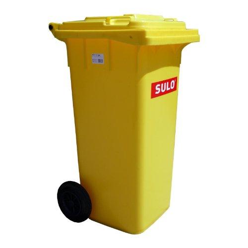 Conteneurs à ordures SULO MGB 120 L, jaune