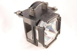 Mitsubishi WD-62527 rear projector TV lamp with housing - high quality replacement lamp