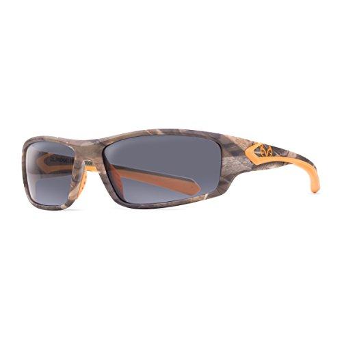 RealTree Ridgeline Max-5 Anti-Fog Safety Glasses (Camo/Orange with Shadow Lense) (2010 F150 Center Console compare prices)