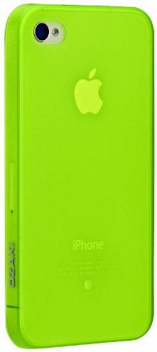OZAKI 厚み0.4mmの超軽量なiPhone 4専用ケース グリーン IC844GR