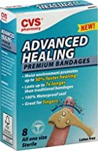 PACK OF 4 Advanced Healing Premium Bandages 8 count EACH