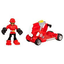 Playskool Heroes Transformers Rescue Bots Set Cody Burns and Rescue Axe - 1