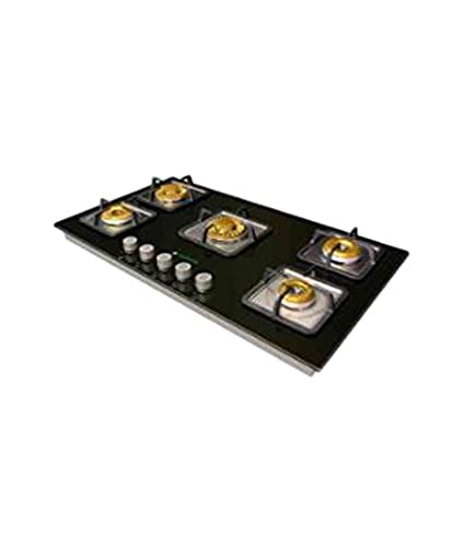 Faber Crystal 90 RP-HGG 905 CRR BR E I 5 Burner Built in Hob Gas Cooktop
