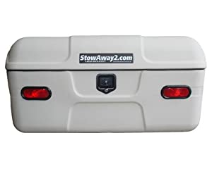 StowAway Max Cargo Carrier with a Swing Away Frame - White