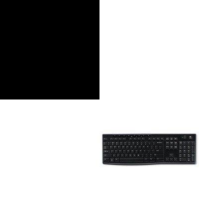 KITHONS30ABCSLOG920003051 - Value Kit - The HON Company HON Brigade 2-Shelf Bookcase   34-1/2quot;W, Charcoal (HONS30ABCS) and LOGITECH, INC. K270 Wireless Keyboard (LOG920003051)
