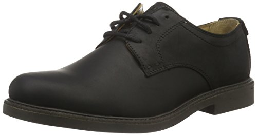Sebago Turner Lace UP, Scarpe Oxford Uomo, Nero (Black Leather WP), 46 EU