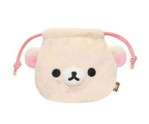 [rilakkuma] stuffed mini drawstring (Korilakkuma) (japan import) - 1