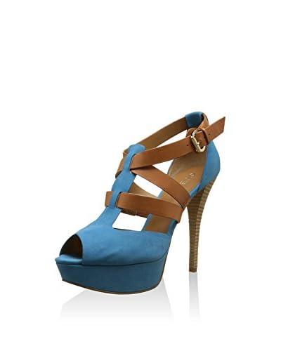 Guess Sandalo Con Tacco Fl1Ittlea03 [Blu Chiaro]