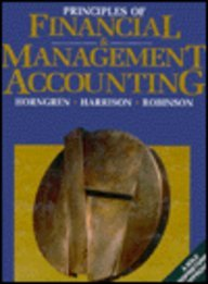 Principles of Financial & Management Accounting: A Sole Proprietorship Approach (Prentice Hall Series in Accounting)