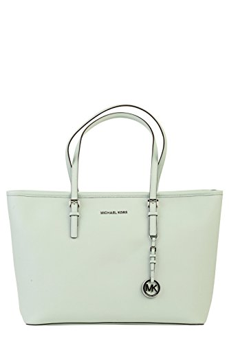 MICHAEL KORS Borsa Jet Set Travel Md Tz Tote Leather Verde Art 30T5STVT2L 303-55 P16