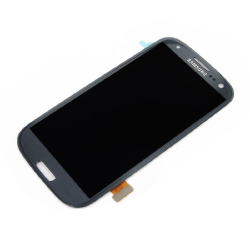 """Full Lcd Display Touch Digitizer Assembly Replacement For Samsung Galaxy 4.8"""" S3 I9300 I9305 I9308 I939 I747 T999 Grey"""
