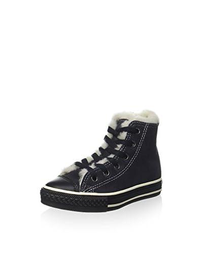 Converse Zapatillas abotinadas All Star Hi Suede Shearling Azul Oscuro