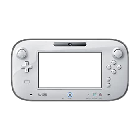 【Wii U】任天堂公式ライセンス商品 TPUやわ硬カバー for Wii U GamePad クリアブラック [ 背面保護タイプ ]