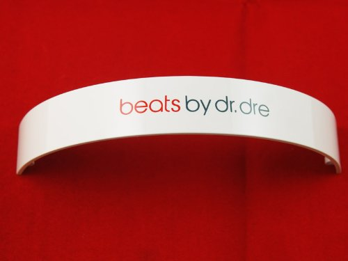 Replacement Headband Top Parts For Monster Beats By Dre Solo Solohd Repair (White)