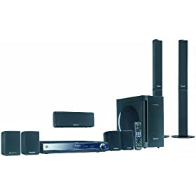 Panasonic SC-BT300 1250W 7.1 Channel Blu-ray Disc Home Theater Sound System