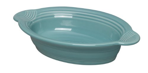 Fiesta 9 Inch By 5 Inch Individual Oval Casserole, Turquoise