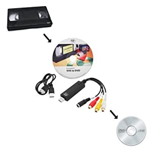 Honestech VHS To DVD 4.0 HD Video Conversion Software Kit Edit Cassette LP To CD