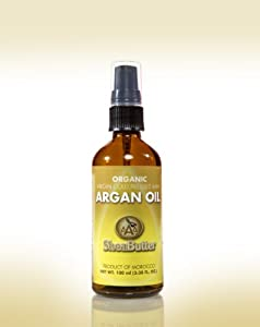 100% Cold Pressed Organic Argan Oil 100 ml BY AAA Shea Butter