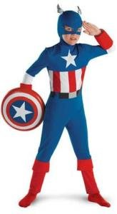 Captain America Classic Costume - Small