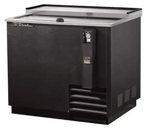 True TD-36-12 Horizontal Bottle Cooler Black 11 Case