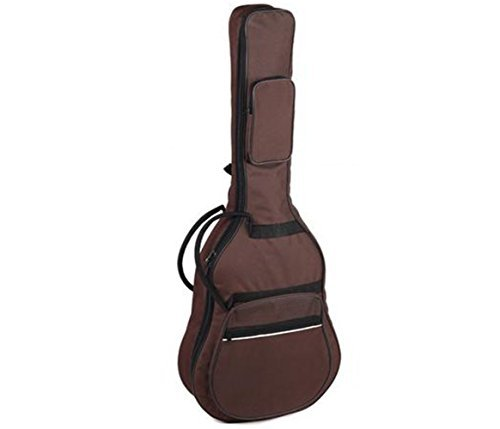 Folk guitar gig bags (with thick cushions) acoustic klangbox color choice (Brown (Brown))