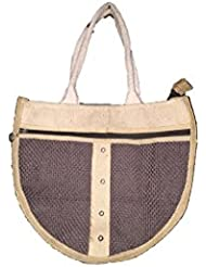 The House Of Cane Women's Sling Bag Ivory (THC_6_Ivory)