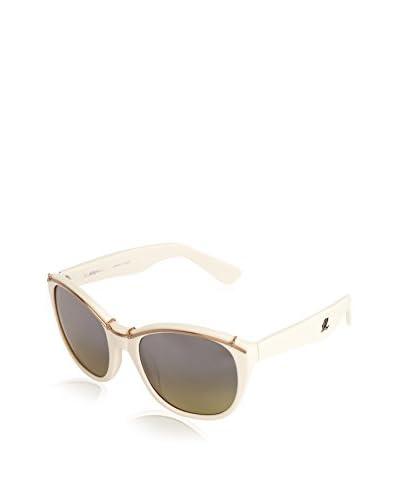 3.1 Phillip Lim Sonnenbrille weiß