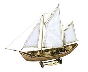 Maquette en bois - Saint Malo