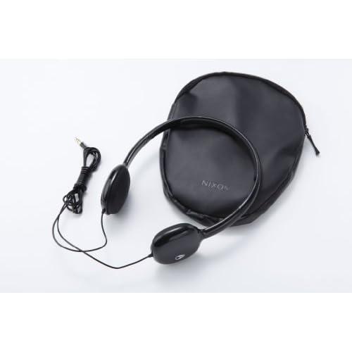 NIXON HEADPHONES: LOOP/ BLACK NH022000-00の写真02。おしゃれなヘッドホンをおすすめ-HEADMAN(ヘッドマン)-