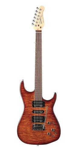 Godin Freeway SA-Synth Access Guitar (Lightburst HG)