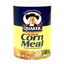 Quaker Yellow Corn Meal pack of 2
