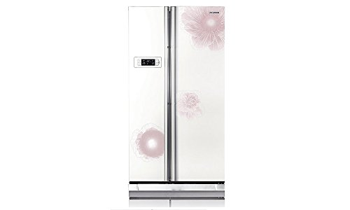 Samsung RS21HSTWA1 600 Litres 4S Side by Side Door Refrigerator (Camellia)