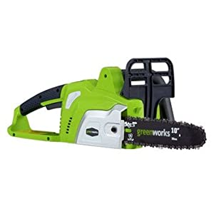 Sunrise Greenworks 20072 10-Inch 20-Volt 2.6 Amp/Hour Lithium Ion Cordless Electric Chain Saw at Sears.com