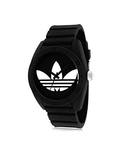 Adidas Unisex ADH6167 Santiago Watch with Black Silicone Band