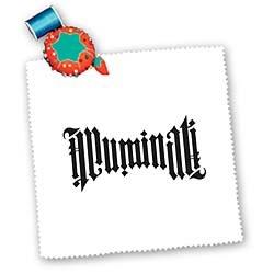 EvaDane – Signs – Illuminati Ambigram. – Quilt Squares – 12×12 inch quilt square