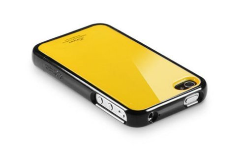 SPIGEN SGP アイフォン 4 / 4S ケース Linear カラーシリーズ 【 レベントン・イエロー 】液晶保護シートセット for Apple iPhone 4 / 4S 【 SGP07586 】