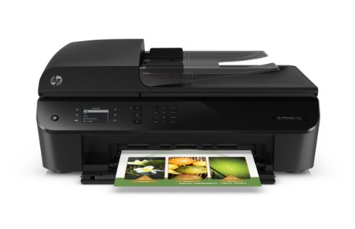 HP Officejet 4632 e-All-in-One Drucker (Duplex, WLAN, Scanner, Kopierer, Fax, USB, ENERGY STAR-zertifiziert) schwarz