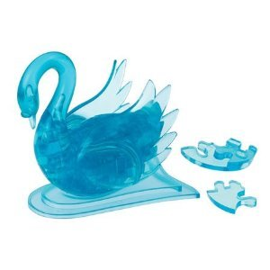 Picture of Beverly Enterprises CRYSTAL PUZZLE Swan 50083 (B0048GITCS) (Pegged Puzzles)