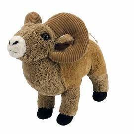 Plush Animal: Big Horn Sheep