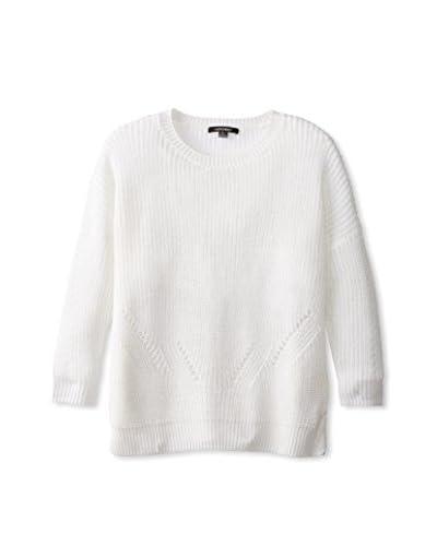 Acrobat Women's Side Slit Rib Crew Sweater
