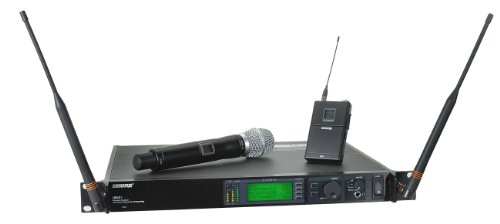 Shure Ur124S/Sm86 Combo Wireless System, H4