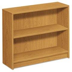 ** 1870 Series Bookcase, 2 Shelves, 36w x 11-1/2d x 29-7/8h, Harvest **