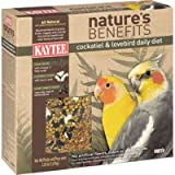 Kaytee Nature&#8217;s Benefits Cockatiel and Lovebird Daily Diet &#8211; 3.25 lb.