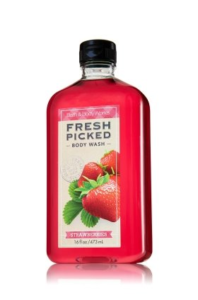 Bath & Body Works® Body Wash Fresh Picked Strawberries