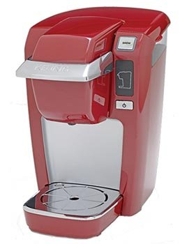 Keurig B31 Mini Plus Brewer (Red) With 12 K-Cup Variety Pack front-69269